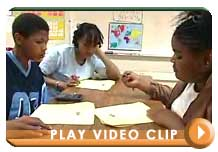 sample video clip for grade range 9 to 12 with Play button